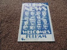 West Bromwich Albion v Fulham, 1973/74